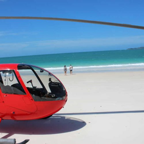Vertical Flight Beach Helicopter Tour