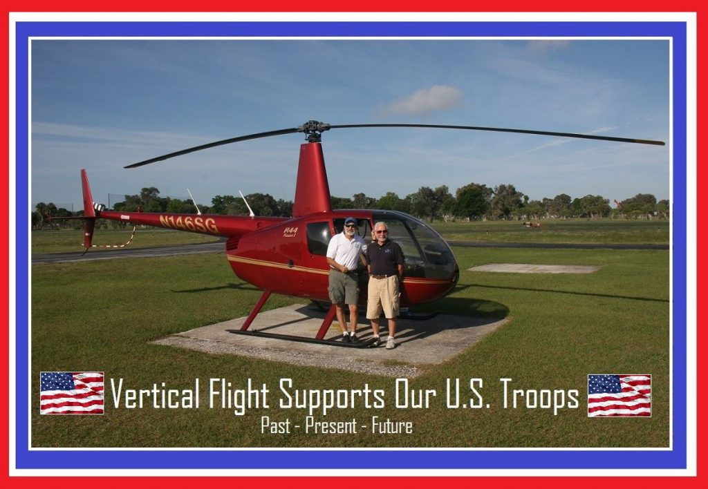 Vertical Flight Supports Our U.S. Troops