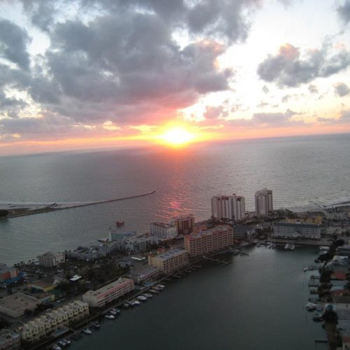 Clearwater Beach Sunset Helicopter Tour