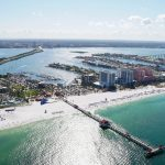 Clearwater Pier from above
